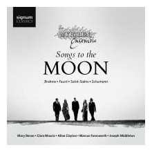 Songs to the Moon:Brahms - Faure' - Schumann