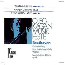BEETHOVEN: Trio Op.11 - Sonata Op.69