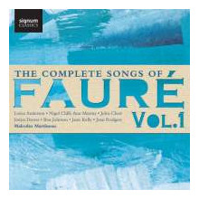 Faure': The Complete Songs - Vol.1