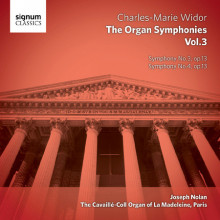 WIDOR: Complete Organ Symphonies - Vol.3