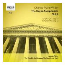 WIDOR: Complete Organ Symphonies - Vol.4