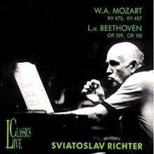 BEETHOVEN: Sonate per piano Op.109 e 110