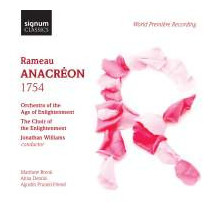 Rameau: Anacreon (1754)