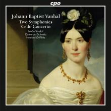 VANHAL: 2 Sinfonie - Concerto per cello