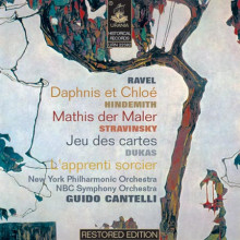 Cantelli dirige Ravel - Hindemith - Dukas