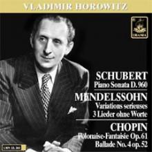 Horowitz Suona Schubert - Chopin...