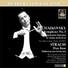 Von Karajan Dirige Tchialovsky - Strauss