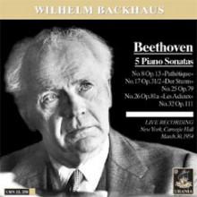 Backhaus esegue Beethoven