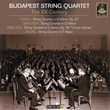 BUDAPEST STRING QUARTET: Quartetti del novecento