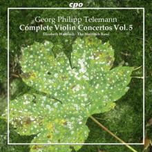 TELEMANN: Concerti per violino - Vol.5