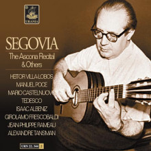 SEGOVIA: Opere per chitarra
