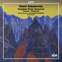 Kabalevsky: Opere Per Piano E Orchestra