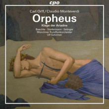 ORFF - MONTEVERDI: Orpheus(3ªversione