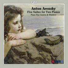 ARENSKY: Cinque suites per 2 pianoforti