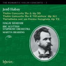 HUBAY: CONCERTO PER VIOLINO VOL.3