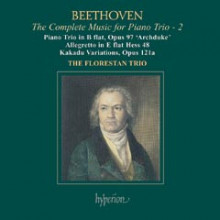 BEETHOVEN: TRII PER PIANO VOL.2