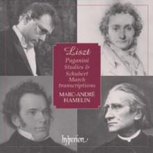 LISZT: Paganini Studies/Schubert Marches