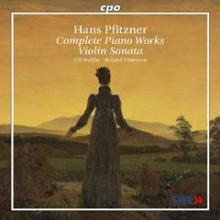PFITZNER:Opere complete x piano/violino