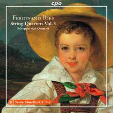 RIES: Quartetti per archi Vol.3