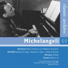 Michelangeli Suona Beethoven & Scarlatti