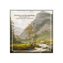 HERZOGENBERG:Sonate x violoncello N.1 - 3