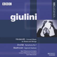 Giulini Interpreta Hindemith - Dvorak