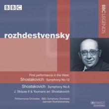 Rozhdestvensky Dirige Shostakovich
