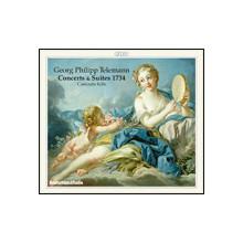 Telemann: Concerti E Suites - 1734