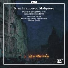 Malipiero: Concerti X Piano E Orchestra