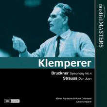 Klemperer dirige Bruckner e Strauss