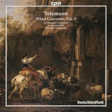 TELEMANN: Concerti per fiati Vol.3