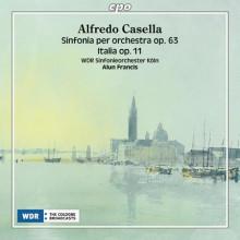 CASELLA: Sinfonia per orchestra Op.63