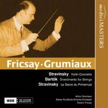 Fricsay dirige Stravinsky e Bartok