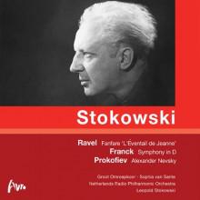 Stokowski  dirige Franck - Prokofiev - Ravel