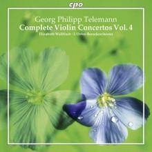 TELEMANN: Concerti per violino - Vol.4