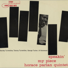 Horace Parlan Quintet: Speakin' My Piece
