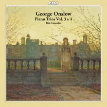 ONSLOW:Trii per archi e piano Voll.3 & 4