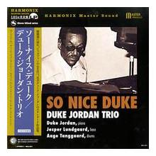 DUKE JORDAN: So nice Duke