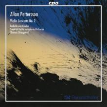 PETTERSSON: Concerto N.2 x vl ed orch.