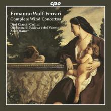WOLF - FERRARI: Concerti per fiati
