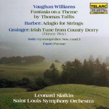 WILLIAMS - SATIE - BARBER: Musica per orchestrale