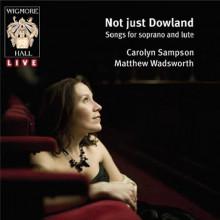 Carolyn Sampson:Arie per soprano e liuto