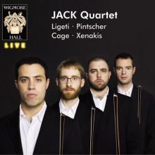 LIGETI - PINTSCHE - CAGE - XENAKIS: Quartetti