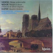 Vierne - Widor - Dupre':messe E Mottetti