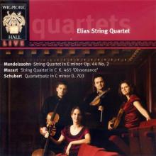 MOZART - MENDELSSOHN - SCHUBERT: Quartetti