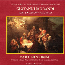 MORANDI:Sonate - Sinf. - Pastorali x organo