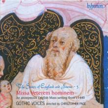 ANONIMO: MISSA VETEREM HOMINEM (1440)