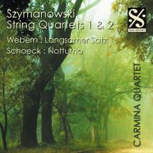 Szymanowski: String Quartets Nn.1 & 2