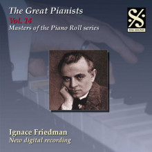 THE GREAT PIANISTS VOL.14 - I.FRIEDMAN