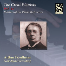 THE GREAT PIANISTS VOL.12 - A.FRIEDHEIM